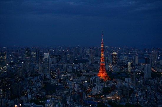Minato, Japan: View towards Tokyo Tower