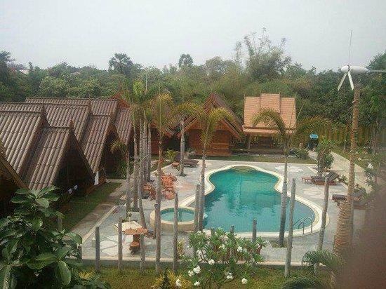 Srisawat Resort : top view