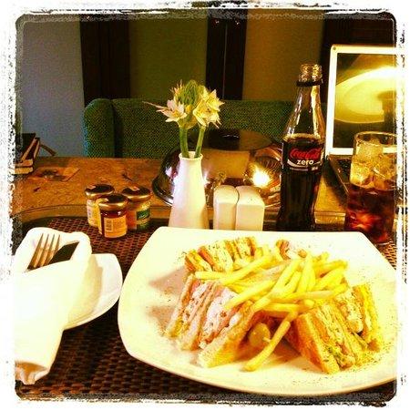 Sofitel Bogota Victoria Regia: club sandwich