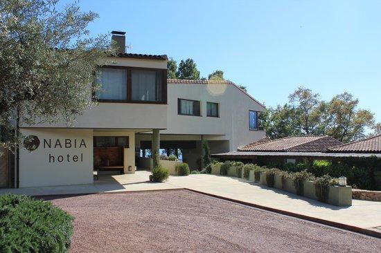 Hotel Nabia: Vista Edificio Principal