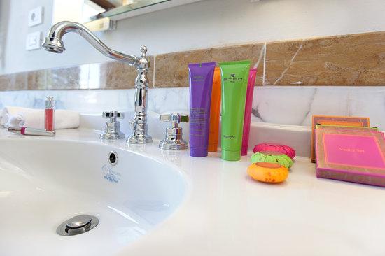 Bathroom Amenities Picture Of Villa Tolomei Hotel And Resort Florence Tripadvisor