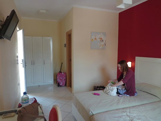 Contessina Hotel: our room