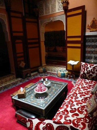 Riad Atika Meknes : Innenraum