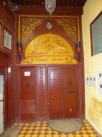 Riad Atika Meknes : Eingangstür