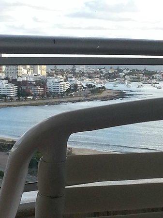 Conrad Punta del Este Resort & Casino : vista desde habitacion