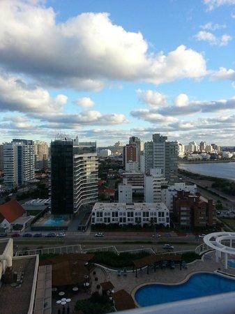 Conrad Punta del Este Resort & Casino: vista desde habitacion