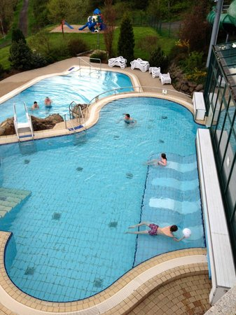Rhön Park Hotel: outer part of the pools