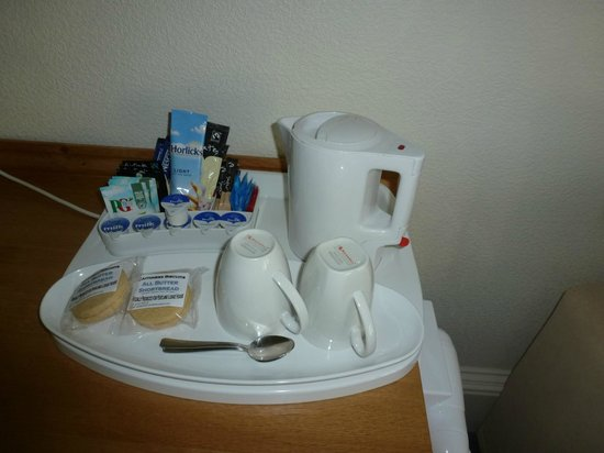 Pentland Lodge House: Wasserkocher und Snacks