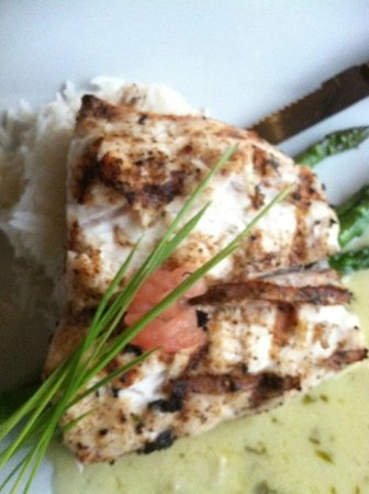 Krave Cafe and Caterers: Southwestern Corvina - fish special of the evening