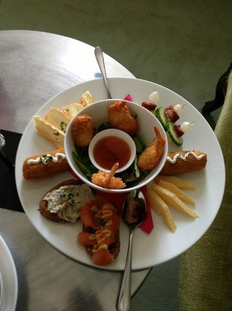 Suite Hotel Pincoffs: Appetisers