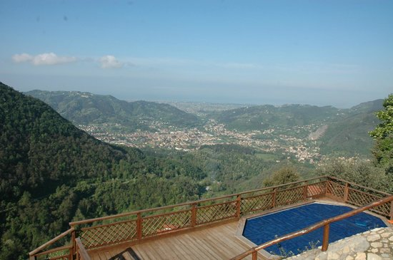 Napiaia Bed & Breakfast: Metato the view!