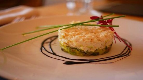 The Galley Restaurant: Crab and Avocado