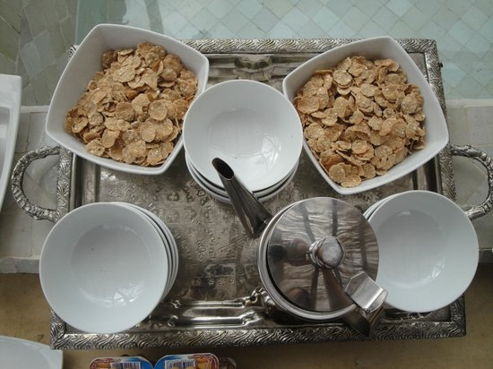 Riad Anata: Petit déjeuner