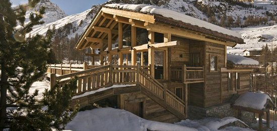 Chalet La Tene : View from the slopes