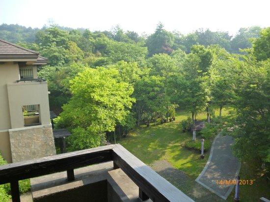Narada Resort & Spa Liangzhu: Aussicht vom Balkon