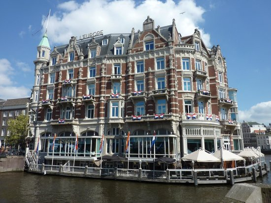 View From Suite Picture Of De L 39 Europe Amsterdam
