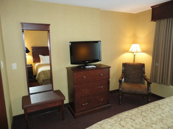 Best Western Plus Fredericton Hotel & Suites : Bedroom - every chair was comfortable