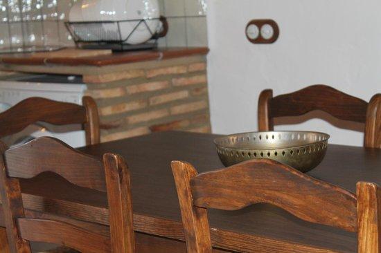Finca El Chaparral: Comedor Casa La Jara
