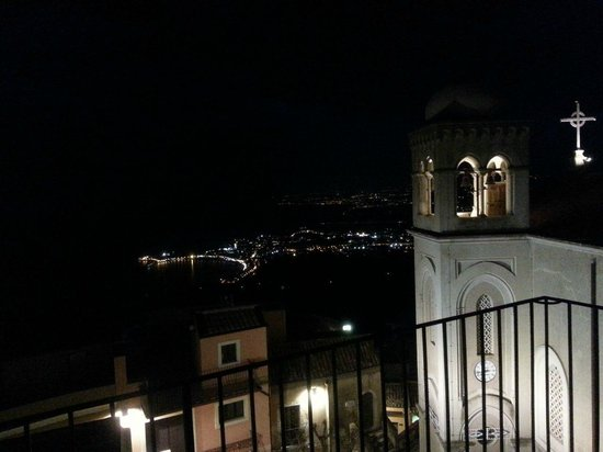 Bocciola : View from Castelmola, where the restaurant is located (2)