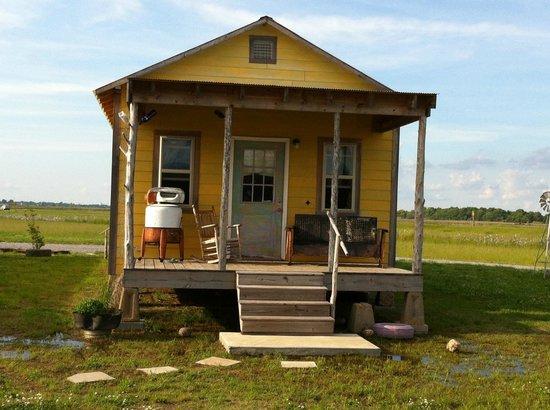 Shack Up Inn: Shack-Up Inn - our shack outside