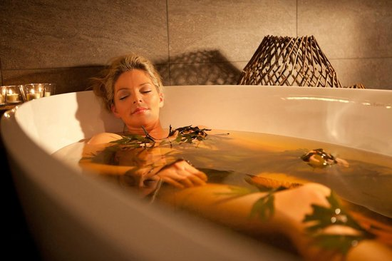 Spa at Blythswood Square: Seaweed Bath Treatment at Blythswood Square