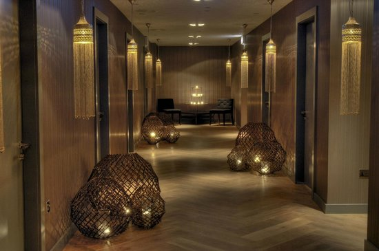 Spa at Blythswood Square: Spa Treatment Corridor