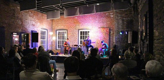 Harmony Presents at the Hawley Silk Mill : Nat Osborn Band Plays Opening Show in the Boiler Room