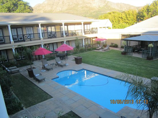 Protea Hotel by Marriott Franschhoek: View from our