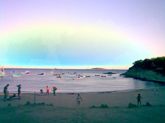 La Chiappa Village de Vacances Naturiste : La spiaggia al tramonto