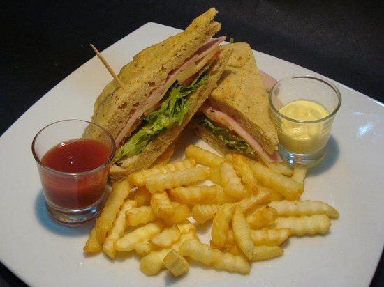 Café San Blas: Sanduches
