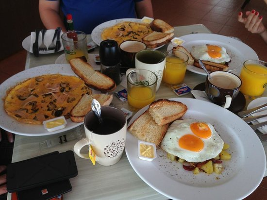 Tubotel: Love their Breakfasts so much !!! Day 3