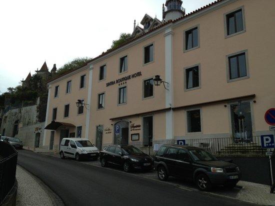 Sintra Boutique Hotel: Voorgevel
