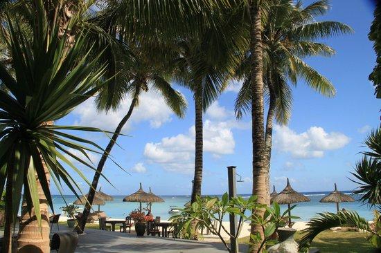 Le Sakoa Hotel : L'affaccio sulla spiaggia
