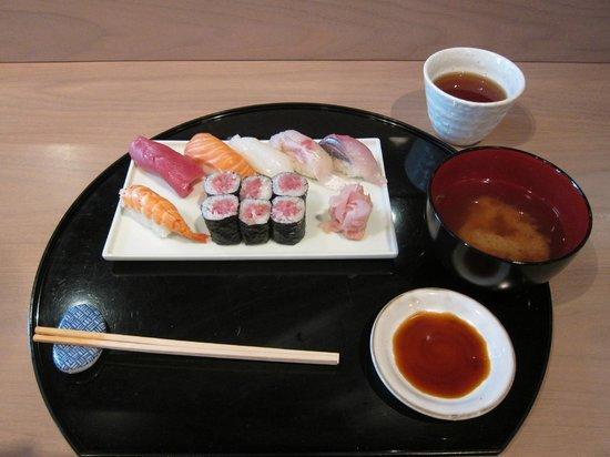 Kamo: Sushi set