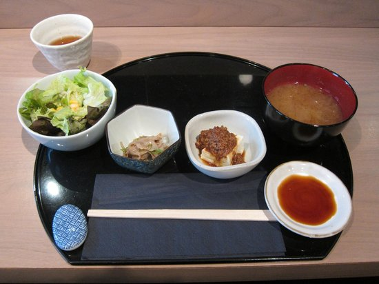 Kamo : Side dishes of the Sushi set