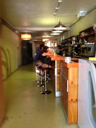 Bagel shop: El interior, sin pretensiones