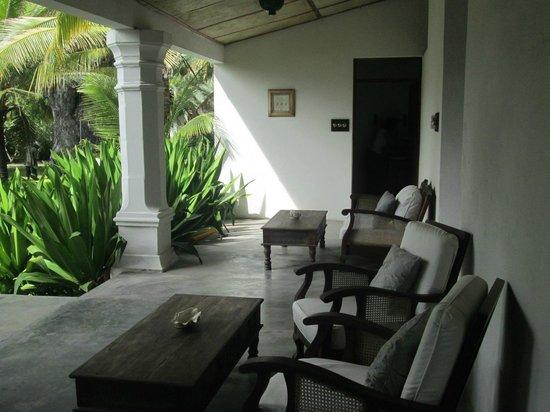 Ibo Island Lodge: Areas comuns, jardim traseiro
