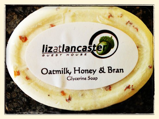 Liz at Lancaster Guesthouse: Essentially scented soap