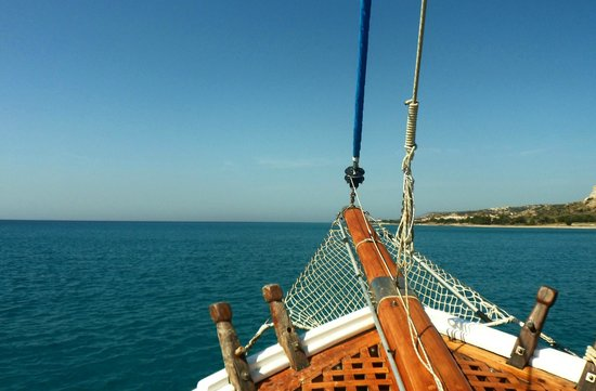 The view from Zeus! - Picture of Zeus Superior Boat Trips, Kardamena - TripAdvisor