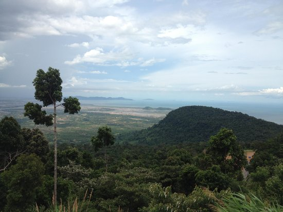 Bokor National Park : Midway up the mountain