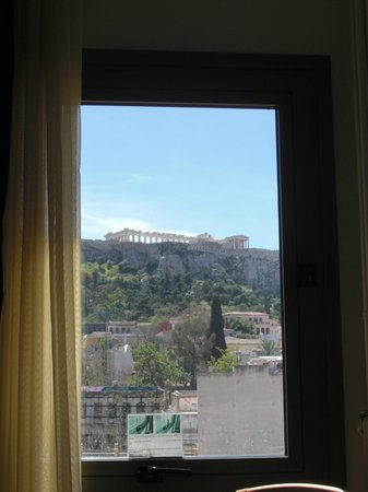 Plaka Hotel: Room view