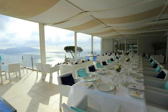 Relais Blu Belvedere: Terrazza Capri