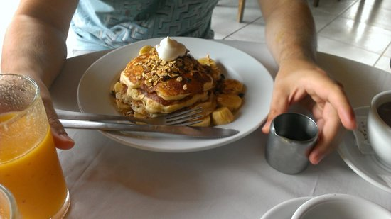 Lizard King Hotel Resort: Best banana pancakes ever