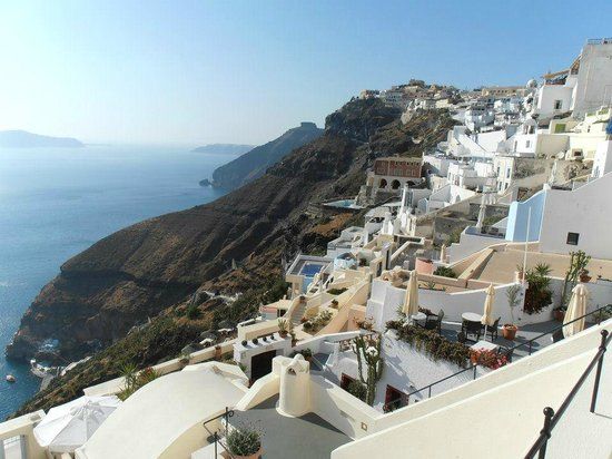 Enigma Apartments & Suites : Fira is sooo pretty!