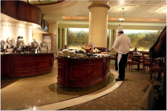 Sheraton Pretoria Hotel: Petit Déjeuner salé, sucré