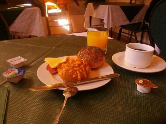 Hotel Zu den Linden: frühstück