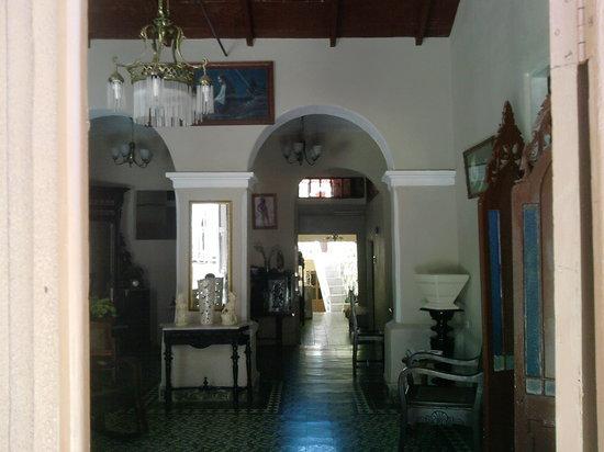 Hostal Trinidad Maria Guadalupe: ENTRY ROOM