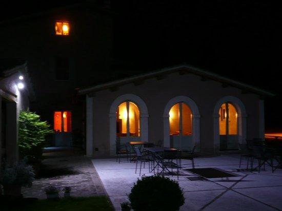 Country House Casco Dell'acqua : Abendliche Stimmung: Casco dell'acqua