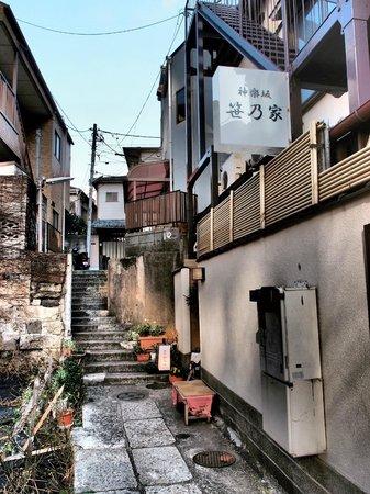 Kagurazaka: 色街の風情