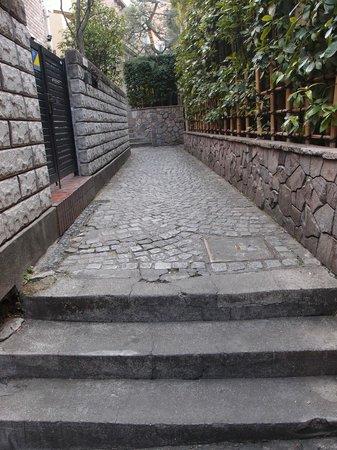 Kagurazaka: 石畳